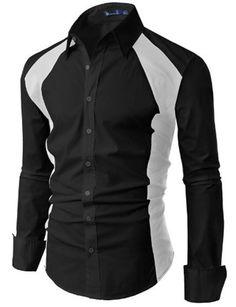 Wholesale Shirts - Buy New Mens Casual Slim Fit Stylish Dress ...