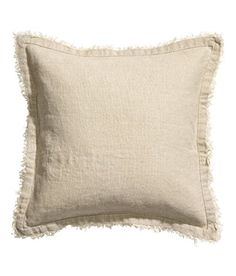 Accent Decorative Throw Pillow Cover Genuine 100% Linen Natural Flax Cushion Cover 16-inch by 16-inch Pure Linen Bordered (Natural Beige) Cushion Cover http://www.amazon.com/dp/B00ZRW2ZE0/ref=cm_sw_r_pi_dp_oVRHvb0B842M0
