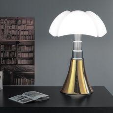 #pipistrello, #martinelli, #italia, #design, #lampe, #lamp, #lampeàposer, #contemporain, #contemporary, #lighting, #light, #bureau, #chambre, #eclairage, #elegant, #gaeaulenti, #moderne, #LED, #intemporel, #classique, #or, #gold
