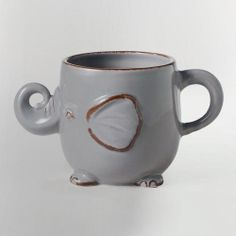 Gray Elephant Mug | World Market - Grams $8