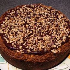 Best Heavenly Chipped Chocolate And Hazelnut Cheesecake Recipe on ...