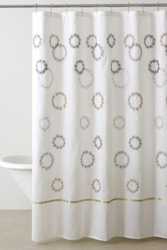 DKNY Filigree Shower Curtain image