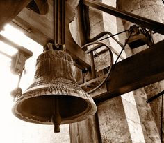 Up on Girona Cathedral Tower. For Whom Does The Bell Toll?