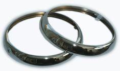Cerclage phare chrome pour Austin Rover Mini / unite