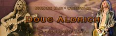 Doug Aldrich official site front page cover photo: April-2013