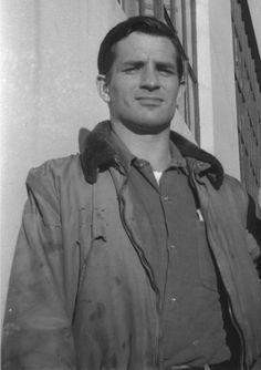 Jack Kerouac  Photograph by Al Hinkle, 1952