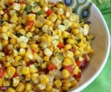 Recipe Sweet Peppers Onions and Corn by Maryanne Skitt - Recipe of category Side dishes