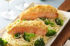 Oven-Roasted Salmon for Two recipe