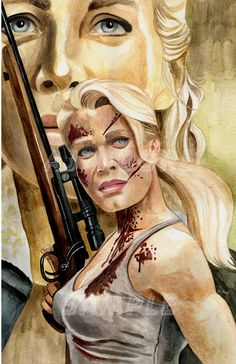 Andrea -by Artist AJ Moore by GudFit on DeviantArt