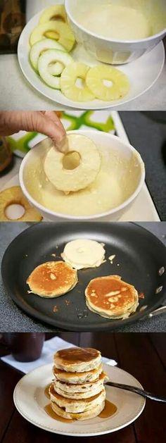 Fruited pancakes