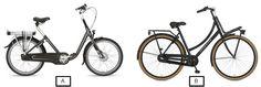 Op welke fiets zou jij graag veel kilometers maken? Fiets A of B?