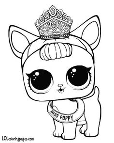 Unicorn Lol Doll Coloring Page adriana Coloring pages
