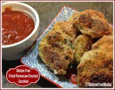 Gluten Free Fried Parmesan Crusted Zucchini – Gluten Free Mama