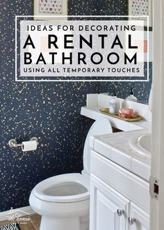 Beau Check Out These Awesome And Budget Friendly Ideas For Decorating A Rental  Bathroom (using