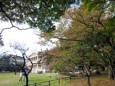 「旧岩崎邸庭園」(Residence garden of old Iwasaki )Palazzo, Tokyo Japan