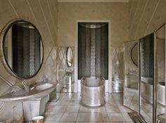 Salle de bain de la reine, queen of England bathroom, 1938