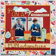 Fun Adventures - American Crafts - Go Now Go Collection