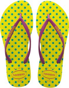 db0f12a93 Smooth and soft havaianas! Havaianas Slim Fresh Pop Up Neon
