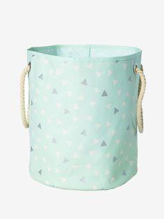 Un beau panier en tissu aux motifs triangles incontournables ! De ...