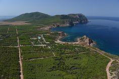 panoramica del Villaggio Camping