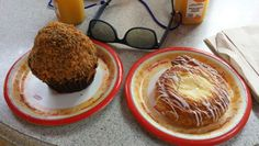 Butterfinger Cupcake and Cheese Danish from Starring Rolls in Hollywood Studios...
