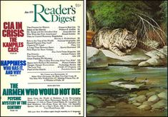 Readers Digest, Duffy, Art Director, Cover Art, Illustration Art, Magazine, Projects, Vintage, Illustrations
