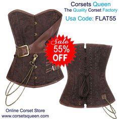 overbust corset, fashion corset, clothing, cloth #dress