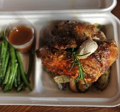 Chicken Rotisserie takeaway from PM24, Melbourne.