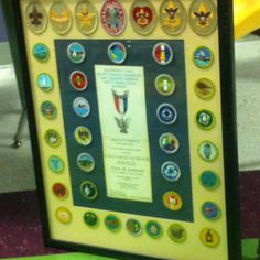Eagle Scout badge arrangement - already did the Cub Scout one, this needs to get done next!