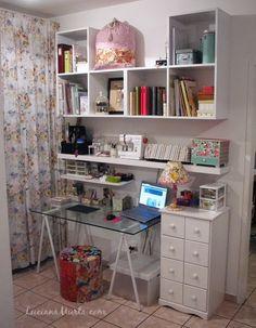 Meu espaço de trabalho renovado