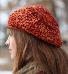 Check out my latest knitting design, the Letah Five Petal Beret. It's knit in @Dream In Color Yarn Jilly yarn, now on sale at 20% off @Fiber Wild!