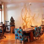 My Houzz: Urban Goes Exotic in a Montreal Artist's Home - eclectic - bedroom - montreal - by Laura Garner
