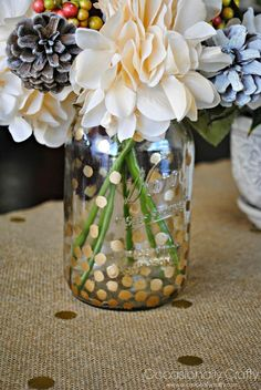 ideas about Gold Mason Jars Mason Jar
