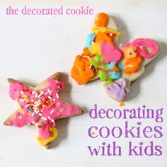 handy guide for working out the logistics of having a cookie decorating station at your party