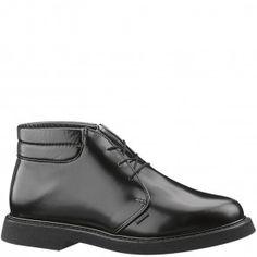 6e27a2120256a3 E00078 Bates Men s Lites Leather Uniform Chukka - Black www.bootbay.com