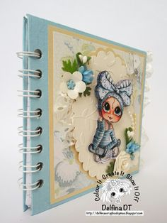 "Delfina scrapbook y más...: ""ROMANTIC NOTEBOOK"" - My Besties"