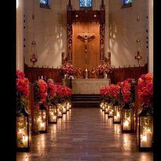 Uauuuu q decor maravilhosaaaa pro interior da igreja!!! Ameeeei!!! Encontrei no IG da minha tchuca @thebridesweetlove segue lá também! @thebridesweetlove  @thebridesweetlove  @thebridesweetlove