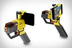 AppTag Laser Blaster | Laser Tag with Smartphones, so will play laser tag with Justin!