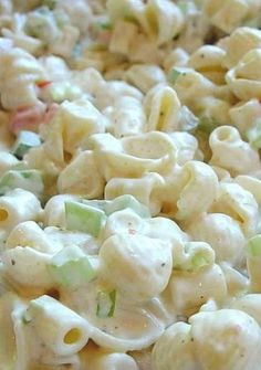Creamy Southern Pasta Salad - This one is, in my opinion, the best. Guaranteed to be a hit at potlucks and picnics or a simple weeknight meal. Recipe for Creamy Southern Pasta Salad No Getting Off This Train- All Things Meal Planning jaimebacon Sid Pasta Recipes, Cooking Recipes, Noodle Recipes, Cooking Ideas, Seafood Salad, Seafood Boil, Cucumber Pasta Salad, Crab Pasta Salad, Spaghetti Salad