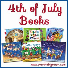 4th of July Kids Books Recommendations