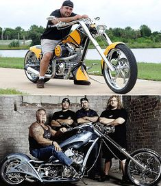 Vincent DiMartino, better known as Vinnie is an American custom bike builder known for appearing in 'American Chopper' as a part of Bagger Motorcycle, Motorcycle Types, Motorcycle Travel, Girl Motorcycle, Motorcycle Quotes, Custom Choppers, Custom Motorcycles, Custom Bikes, Orange County Choppers