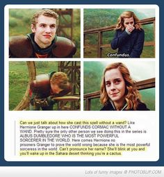 Hermione Is The Real Badazz...