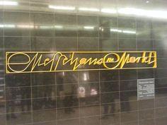 Gestern bei einem typografischen Stadtrundgang mit Maurice Göldner entdeckt. Leipzig kann einen immer wieder typografisch überraschen.