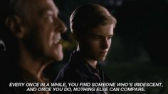 "Flipped: ""Every once in awhile you find someone who's iridescent"