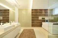 banheiros de casal com duas cubas apoio bancada