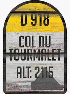 Col Du Aubisque ROAD SIGN METAL TOUR DE FRANCE Bike Race ROUTE Mtn Climb