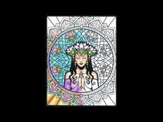 Take A Look Inside The Sacred Beauty Coloring Book By Cristina McAllister McAllisters Art Explores Symbolism With Style That Blends