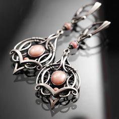 Tassilya  exclusive sterling silver wirewrapped by BartoszCiba, $235.00