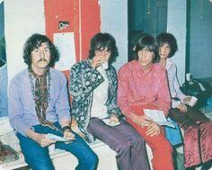 "pinkfloyd-shineon: ""Pink Floyd 1967 Nick Mason , Rick Wright , Roger Waters , Syd Barrett """
