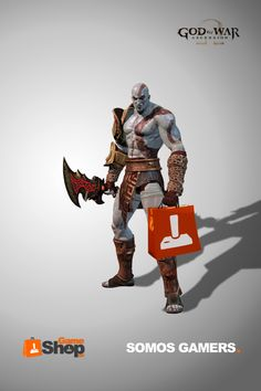 Kratos is a Gamer